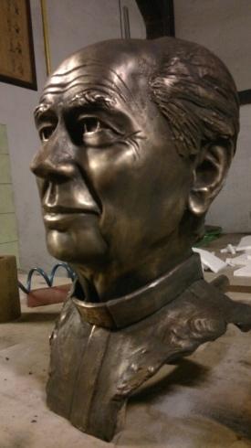 busto bronzo