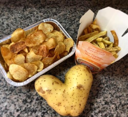 A voi la scelta: chips/stick