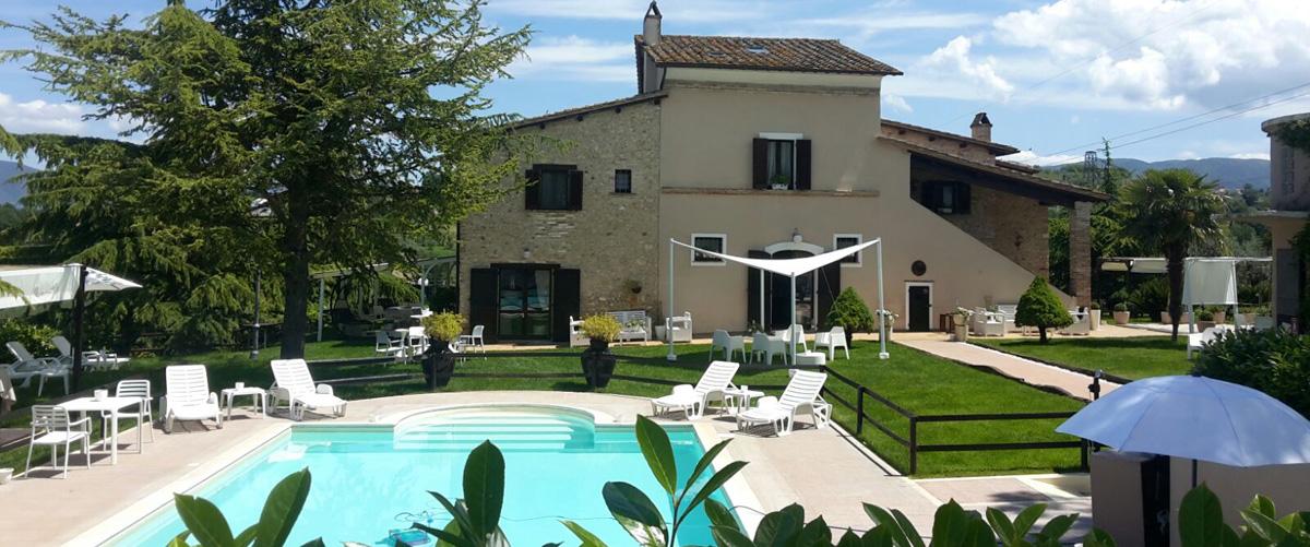 Bed & Breakfast mit Pool zwischen den Orten Terni und Narni
