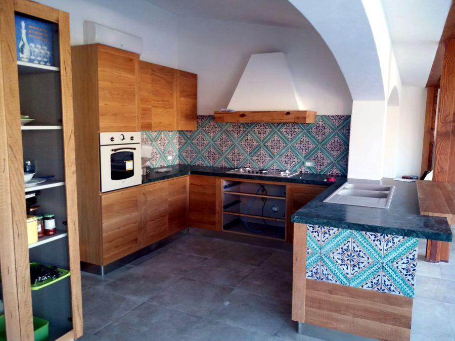 cucina legno mam designer