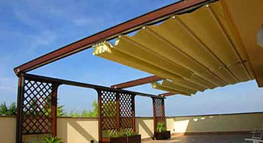 Vendita ed Installazione Tende da Sole Pergole da Sole Tende a Bracci Imperia Savona Costa Azzurra | SERALL