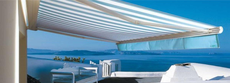 Vendita ed Installazione Tende da Sole Tende a Bracci Pergole Pergolati Imperia Savona Costa Azzurra | SERALL