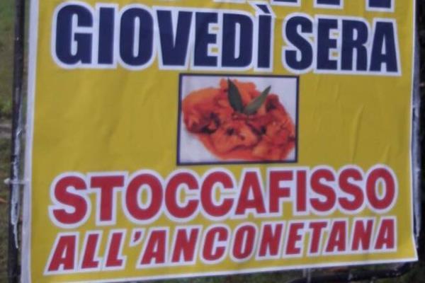 Tabellone Ristorante Pizzeria Da Cristia a Collemarino Ancona