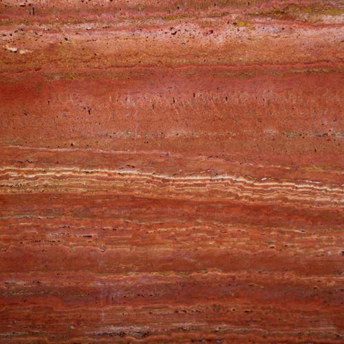 marmi travertino rosso