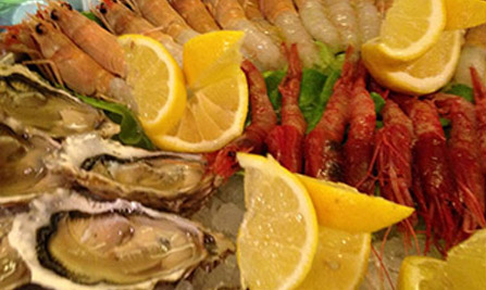 Fish restaurant Milan