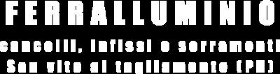 logo aziendale ferralluminio
