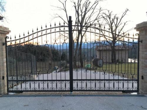 cancelli in ferro battuto Cartoceto PU
