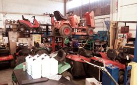 attrezzature per il giardinaggio Cadeo