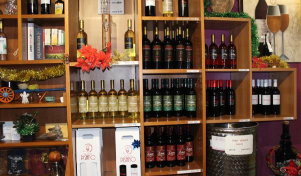 punto vendita vini