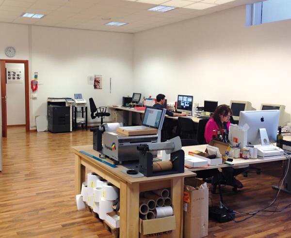 Etichettificio in toscana Vanzi, stampa etichette tra Siena e Firenze