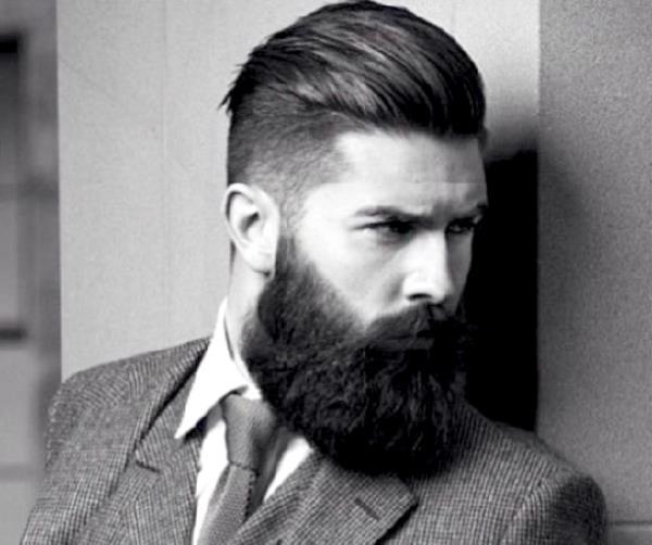 capelli alla moda, barbiere, taglio uomo, cura della barba