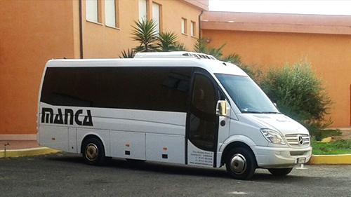 noleggio minibus con autista