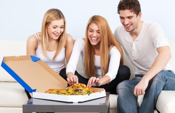 consegna pizza a domicilio