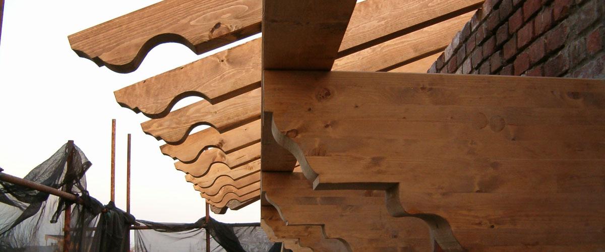 realizzazione tetti mansardati in legno como