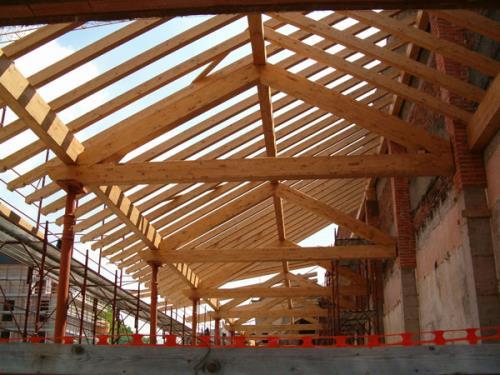 tetti e solette in legno como