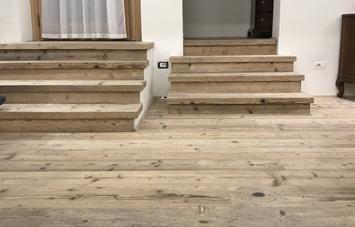 pavimenti e scale in legno Cortina D'Ampezzo Belluno