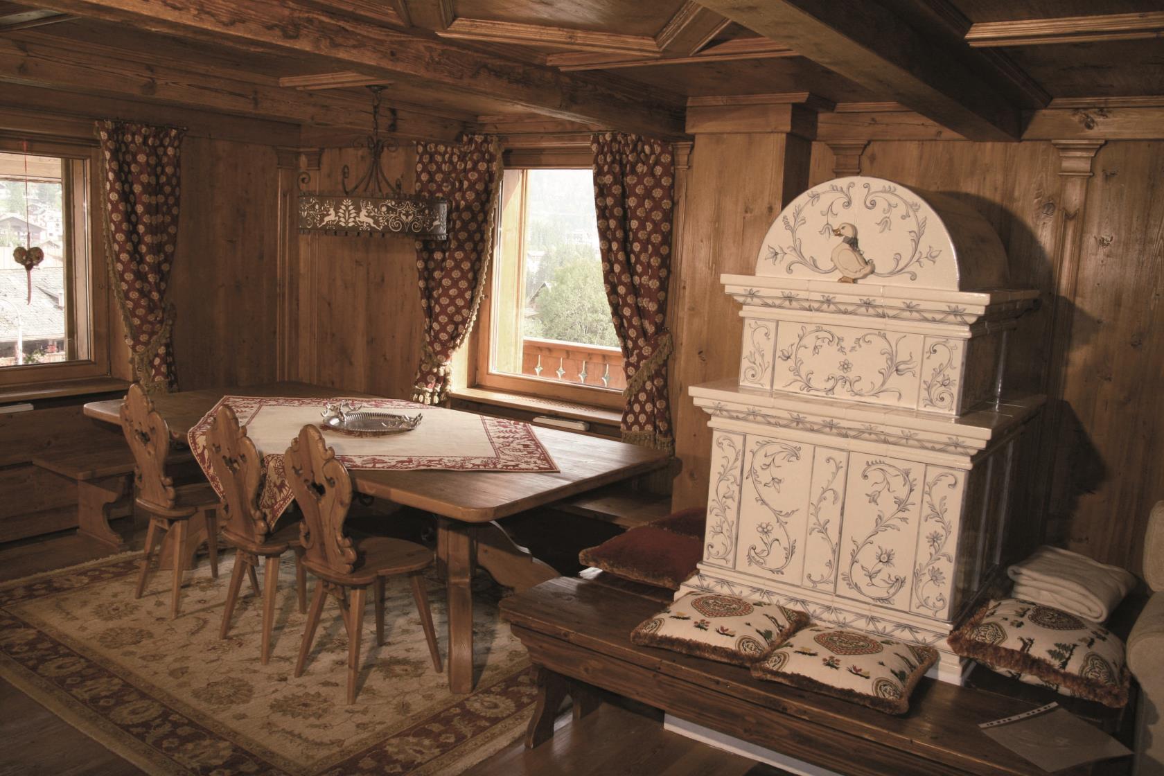 Tavoli legno Cortina d'Ampezzo