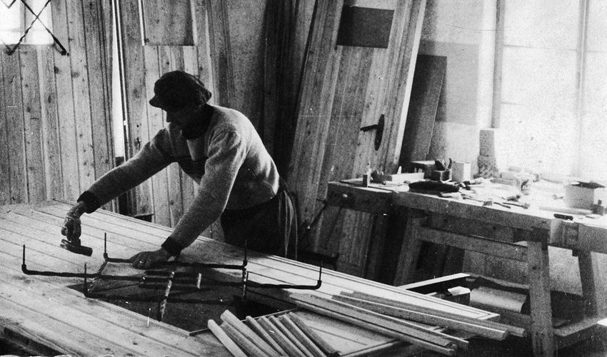 Lavorazione legno massiccio Vodo Cadore Belluno