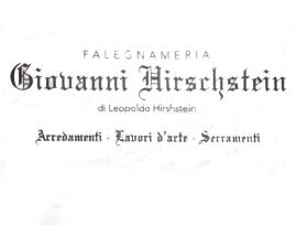 HIRSCHSTEIN LEOPOLDO Falegnameria Vodo Cadore
