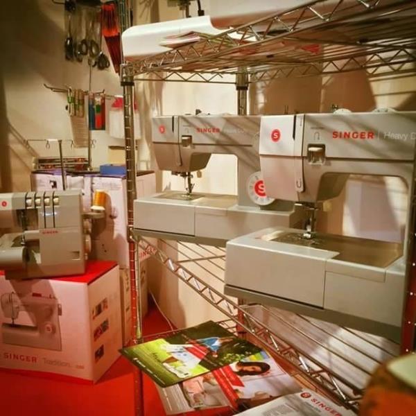 Assistenza per macchine per cucire