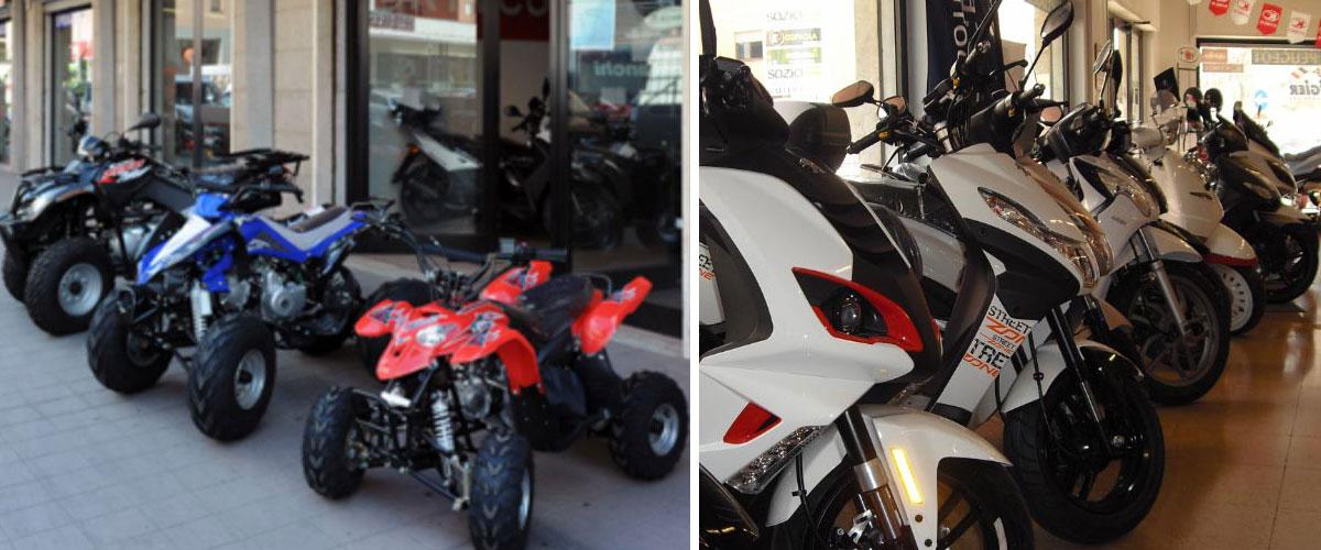 negozio di moto Viterbo