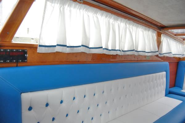 Tappezzeria per barche