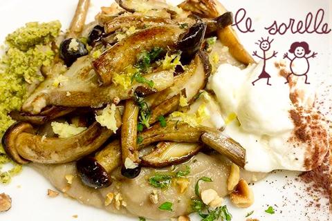 ristorante specialità funghi porcini Roma centro storico