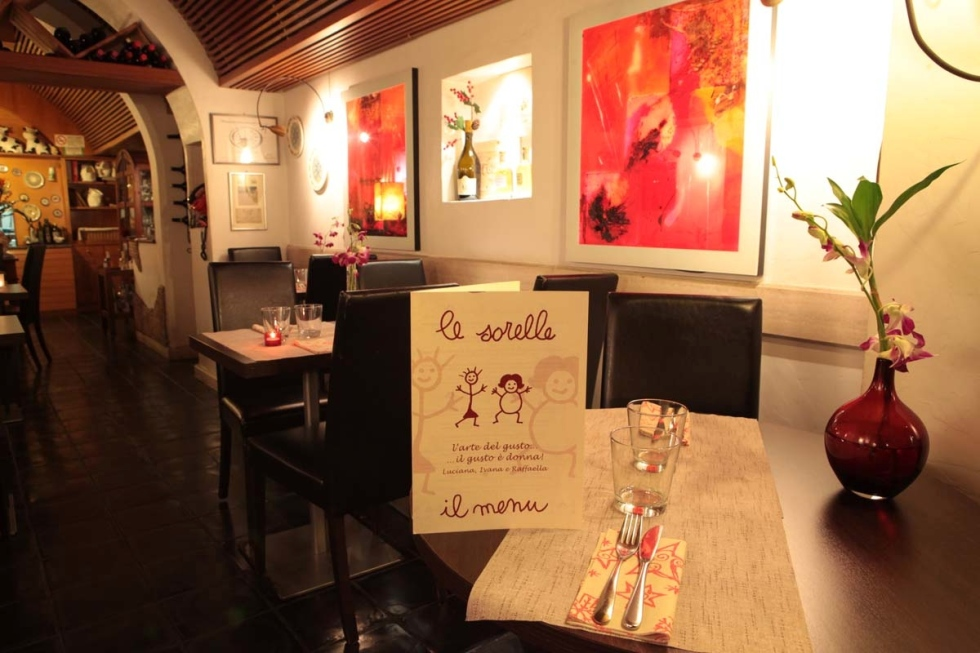 Events Ristorante Le Sorelle Rome historic centre