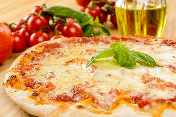 Sourdough Pizza Ristorante Le Sorelle Rome historic centre
