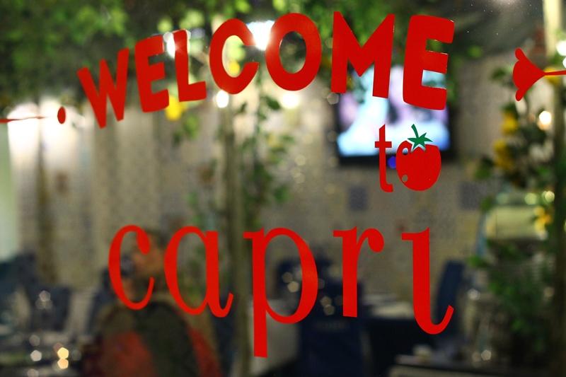 welcome to capri restaurant
