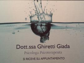 GHIRETTI DOTT. GIADA Psicologa Noceto