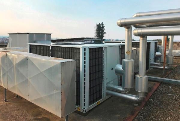 impianti per riscaldamento industriale Arezzo