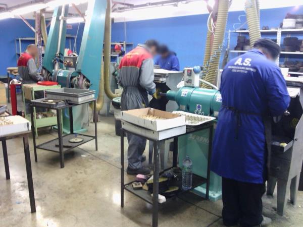 pulimentatura metalli Arezzo