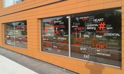 Vetrofanie per negozi e locali Brescia
