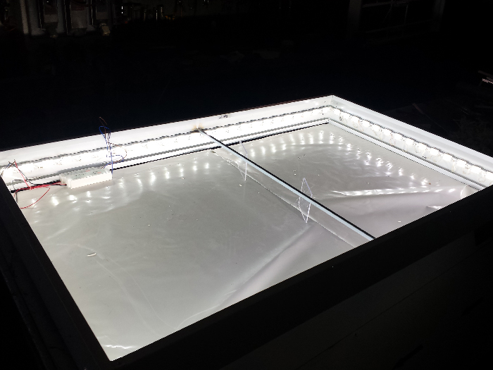 cassonetto led