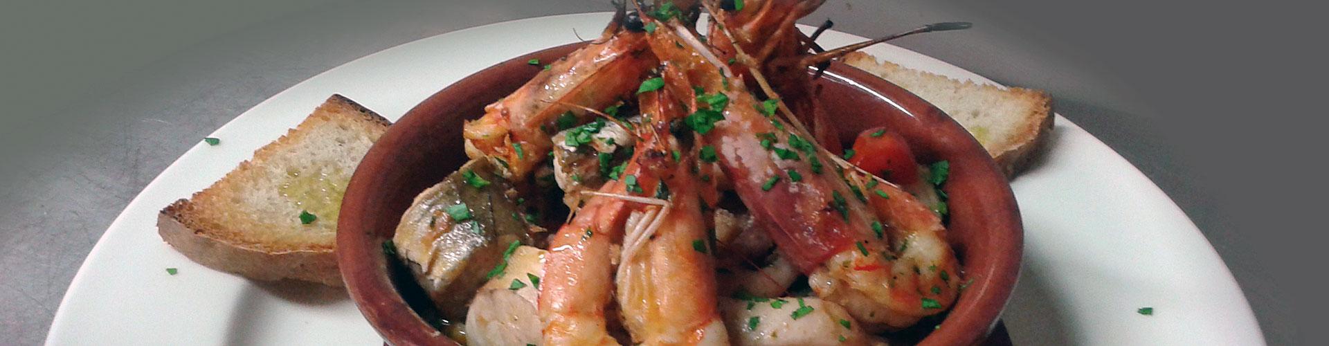 ristorante di pesce Rieti