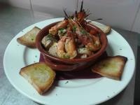 ristorante con menu di pesce Rieti