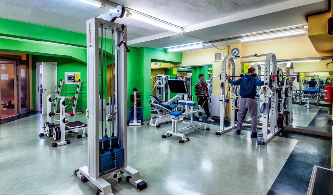 fitness club Sassari