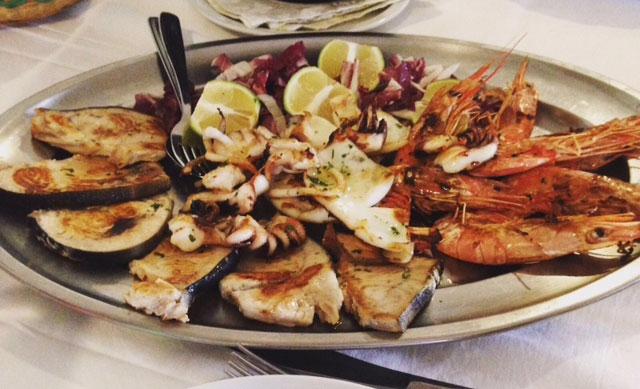 ristorante di pesce Villapiana CS