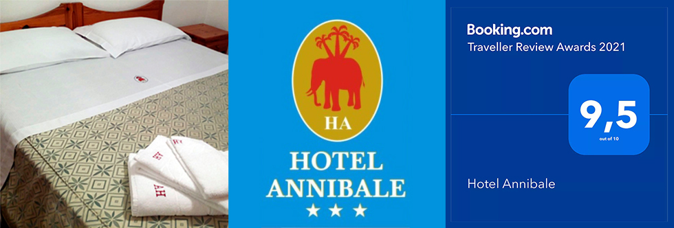 Hotel Annibale - Booking.com Traveller Review Award 2021