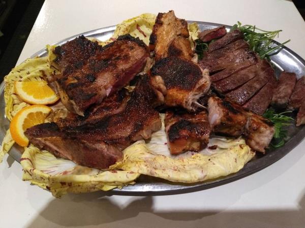 ristorante con carne alla brace Treviso