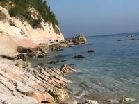 Spiaggia Sassi Neri Sirolo Ancona