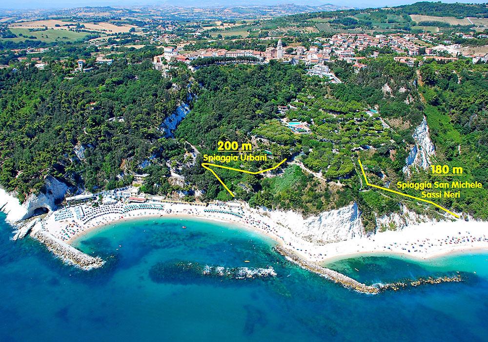 Spiaggia urbani Ancona