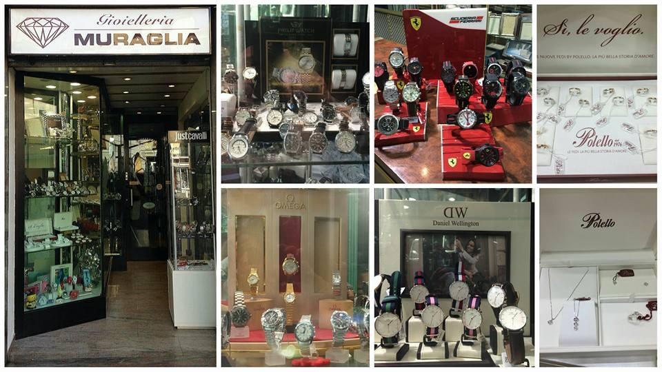 gioielleria, orologeria, argenteria