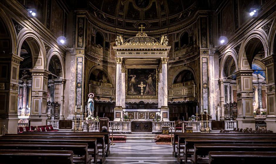 arredi sacri soprani Roma