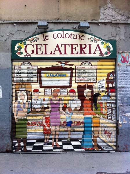 gelateria Le Colonne Milano