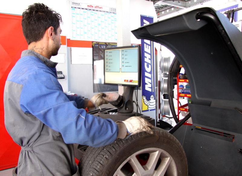 assistenza pneumatici Monte Porzio PU