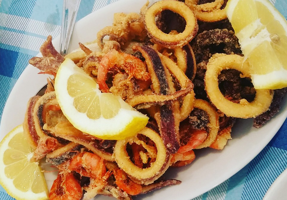 pesce menu fissi e da asporto