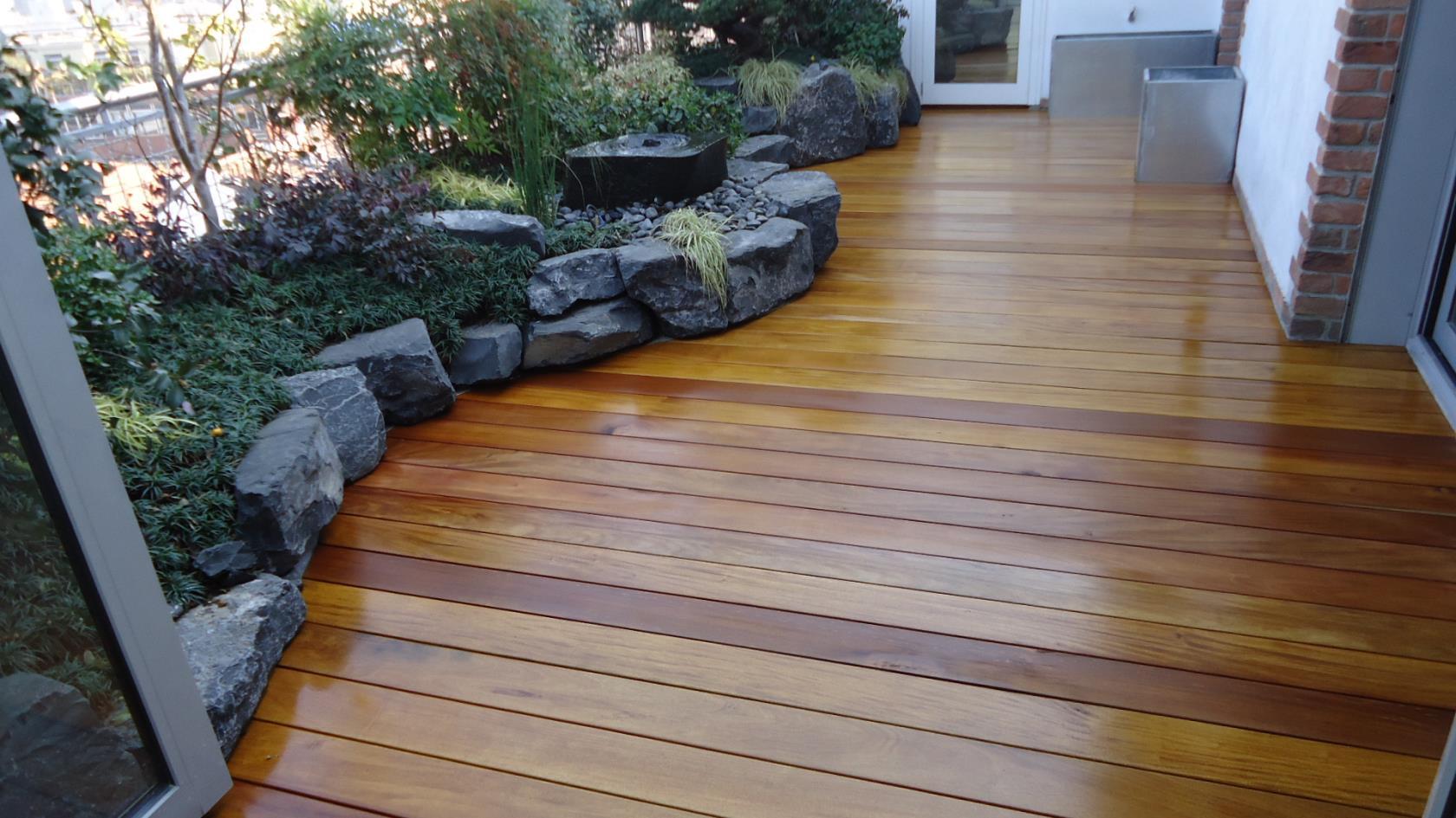 pavimentazione esterna legno bergamo