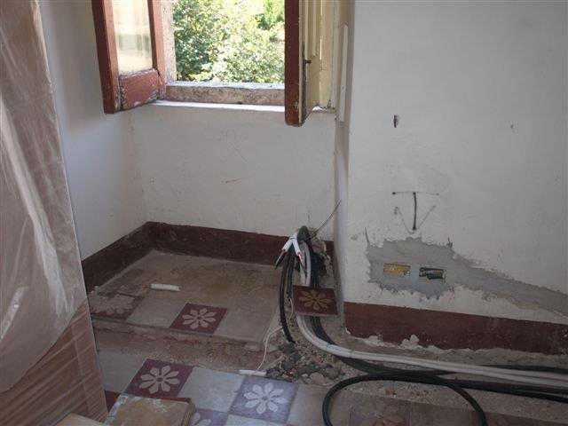Predisposizioni impianto di climatizzazione presso un casa antica di via grande